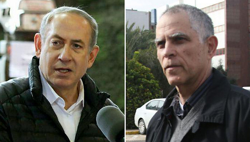 Netanyahu (L) and Mozes (Photos: Avi Moalem and Hillel Maeir/TPS)