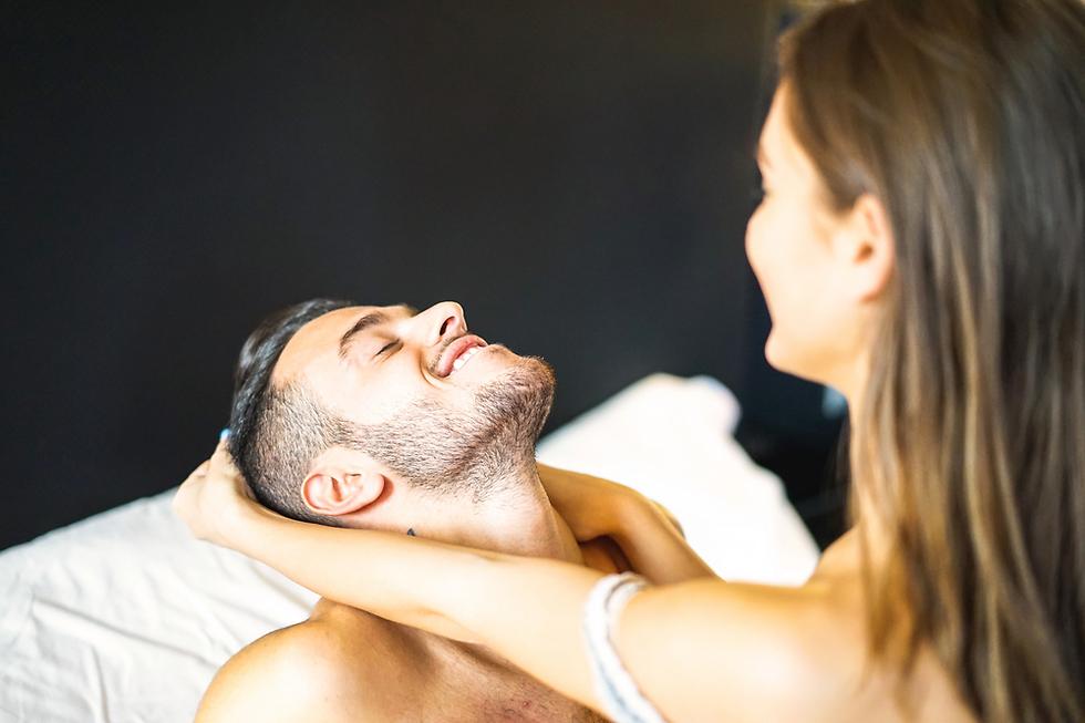 15% מהנשים היו שמחות למגע מיני ארוך יותר (צילום: Shutterstock)