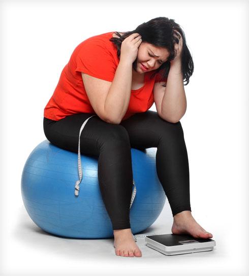 אל תתנו למשקל לקבוע לכם את מצב הרוח (צילום: Shutterstock)