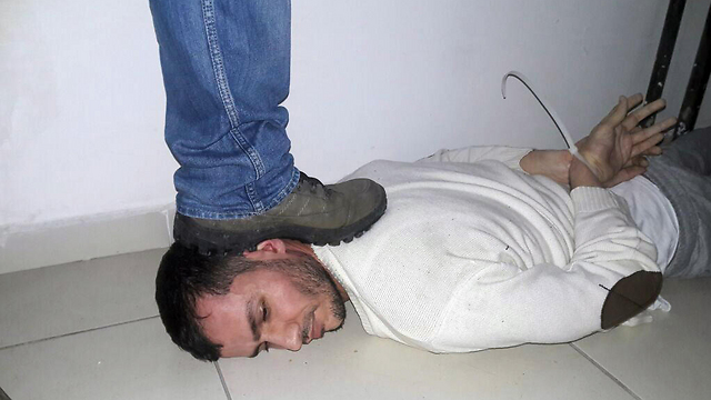 The suspect after arrest (Photo: MCT)