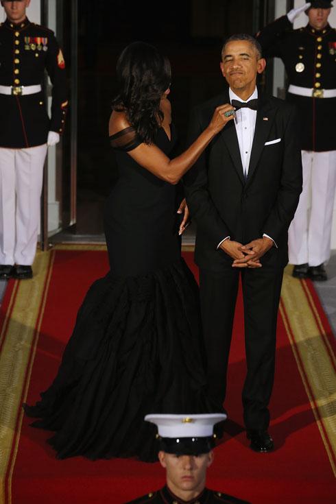 ידעו לראות באופנה משאב חשוב. ברק ומישל אובמה (צילום: Gettyimages)