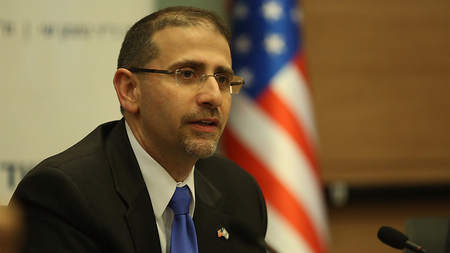 Former US Ambassador to Israel Dan Shapiro (Photo: Gil Yohanan)