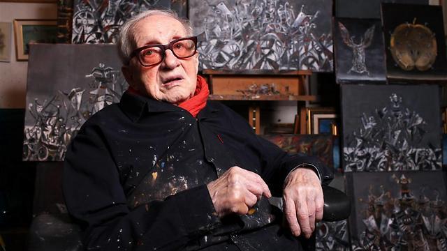 יוסל ברגנר. נתפס כמייצג של הישראליות ביצירתו (צילום: עמית שעל) (צילום: עמית שעל)