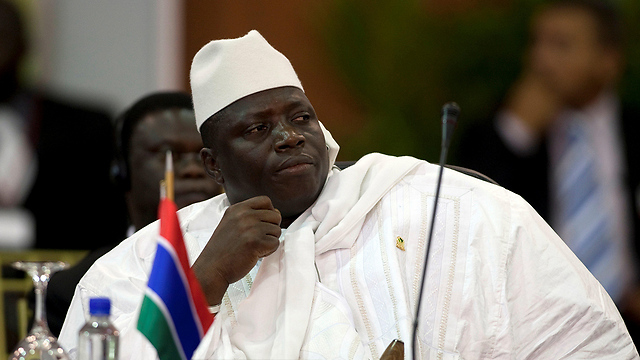 סירב לעזוב את השלטון למרות שהודה בהפסדו בבחירות. נשיא גמביה לשעבר יחיא ג'אמה (צילום: רויטרס) (צילום: רויטרס)