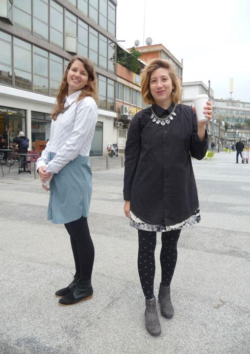 שמלות שנתפרו מחולצות גבריות משומשות (צילום: BARAD)