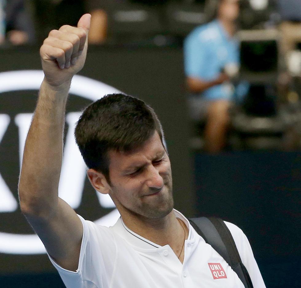 לזה קוראים סנסציה. ג'וקוביץ' הולך הביתה בסיבוב השני (צילום: AP) (צילום: AP)