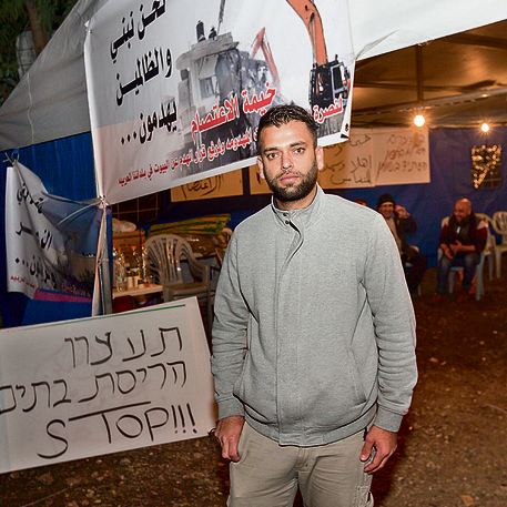 Fadi. 'I used to define myself as Israeli' (Photo: Tal Shahar)