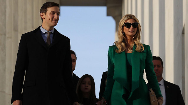 Ivanka Trump and Jared Kushner (Photo: EPA)