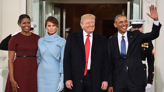 Президенты и их жены. Фото: AFP