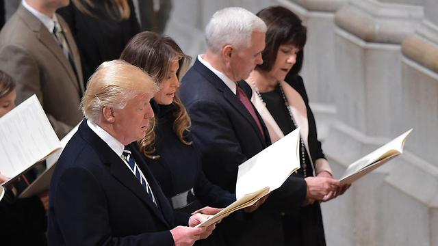 האם הוא יזכה להיות הנשיא הראשון שיעשה היסטוריה עולמית. טראמפ (צילום: AFP) (צילום: AFP)