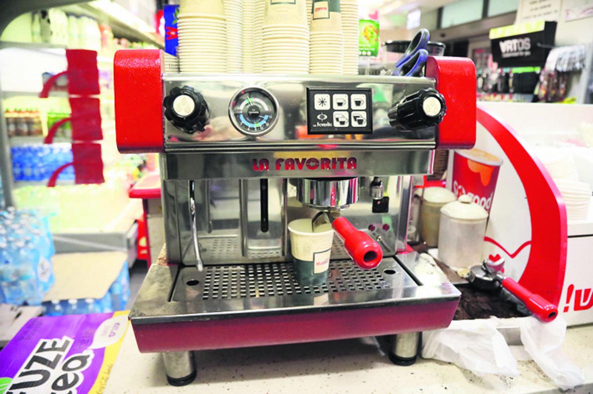 מכונת הקפה של לה פובריטה