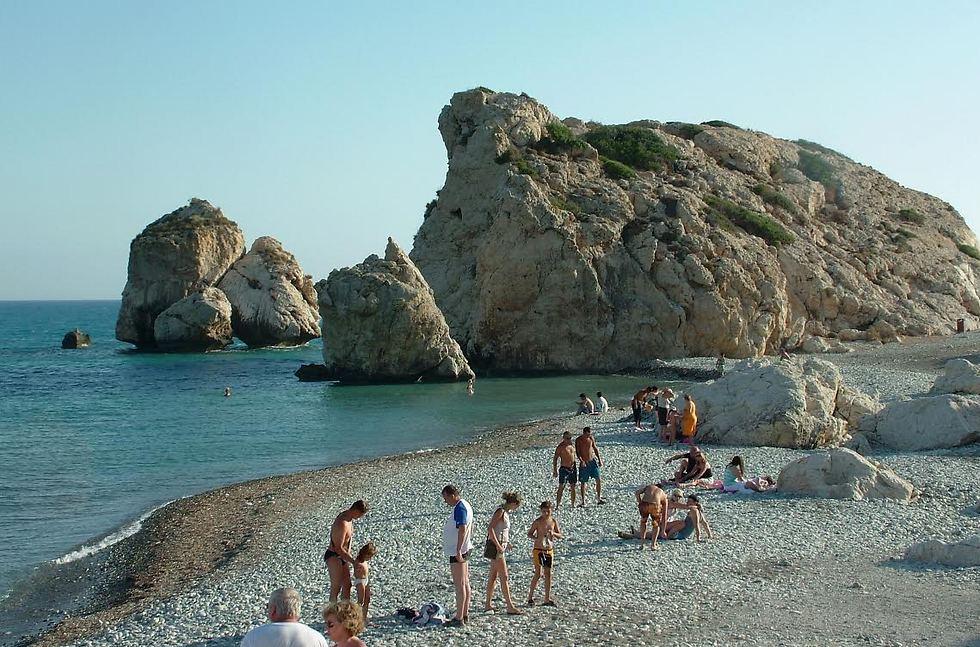 התיירות פורחת ואין אלימות. קפריסין היוונית (צילום: דני שדה)