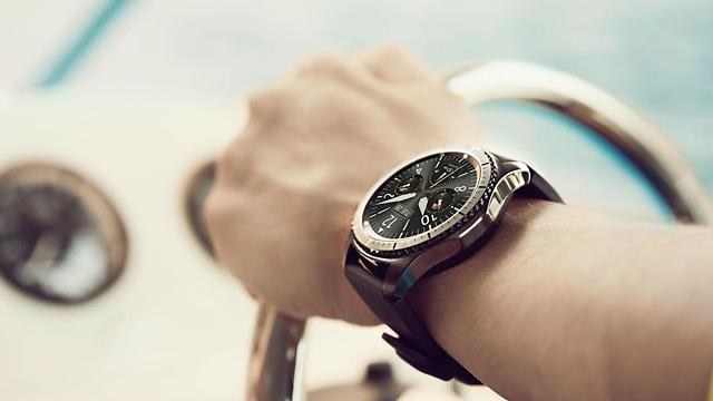 הדגם הקודם של השעון: Gear S3 (צילום: סמסונג) (צילום: סמסונג)