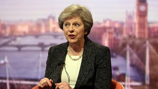 התנגדה להיפרדות מהאיחוד האירופי, אבל הבטיחה לקיים את רצון העם. ראש ממשלת בריטניה תרזה מיי (צילום: רויטרס)