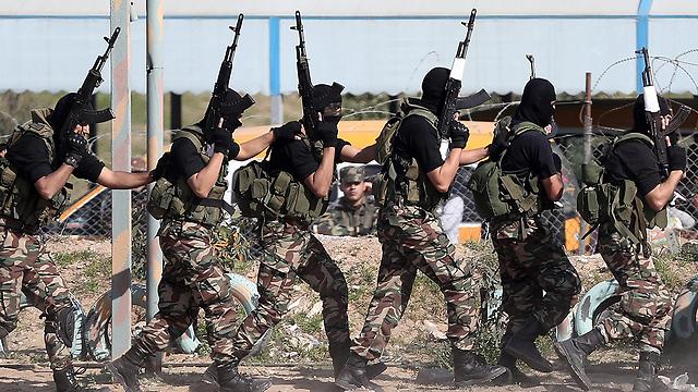 Hamas terrorists (Photo: EPA)