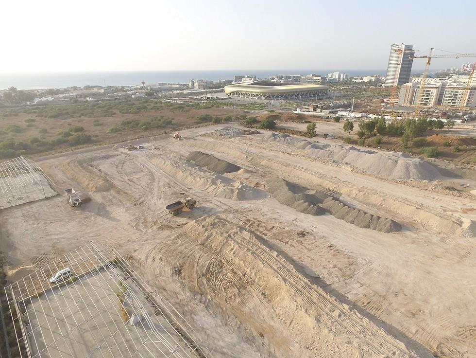 פינוי המחנה הצבאי טירה בטירת הכרמל (צילום: משרד הביטחון)