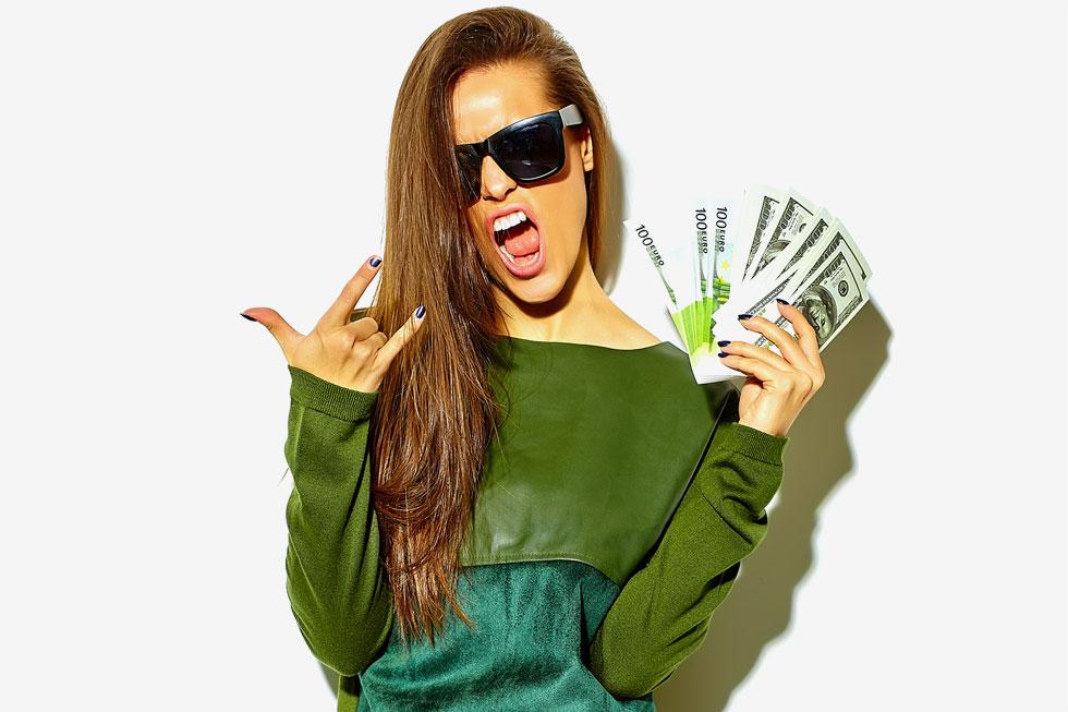 תחביב יקר? לא מפחיד אותי. אני ארוויח מספיק. צילום אילוסטרציה (צילום: Shutterstock)