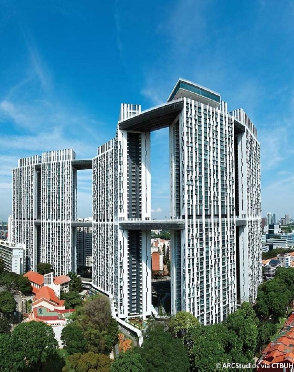 הפרויקט בסינגפור. מתחם דיירים ענק (צילום: CTBUH-ISRAEL) (צילום: CTBUH-ISRAEL)