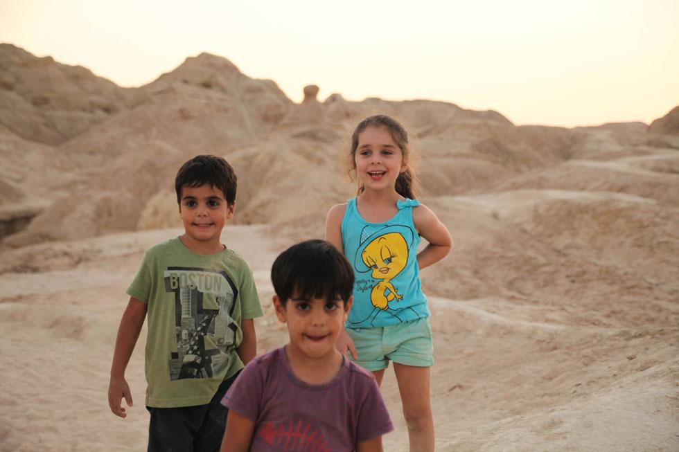 יום באיזור הערבה