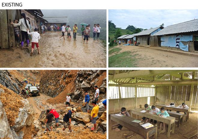 בית ספר יסודי בכפר בצפון וייטנאם, עד לפני שנתיים (צילום: Son Vu)