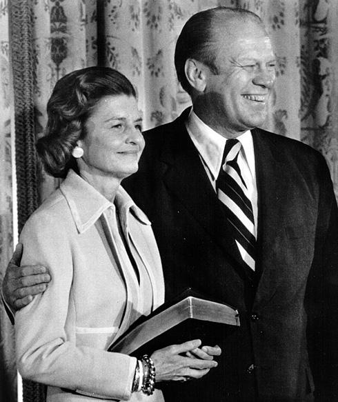 היתה לדמות דומיננטית מאוד בבית הלבן. בטי פורד, 1974 (צילום: Gettyimages)