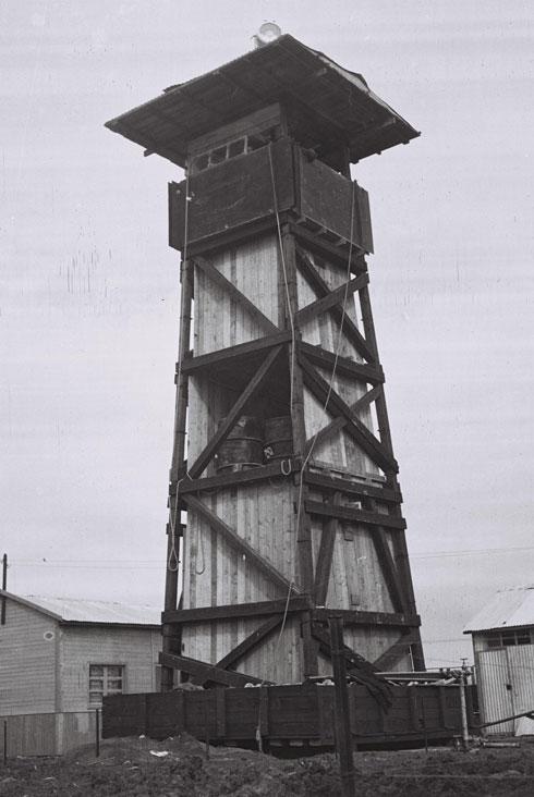 """כאן החל מפעל ''חומה ומגדל''. תל עמל, לימים ניר דוד (צילום: זולטן קלוגר, לע""""מ)"""