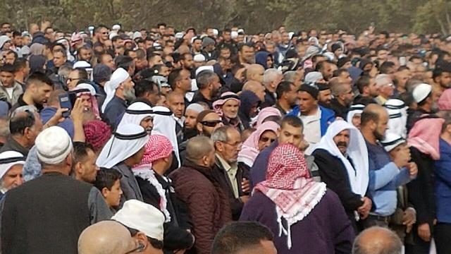 Abu al-Qiyan's funeral