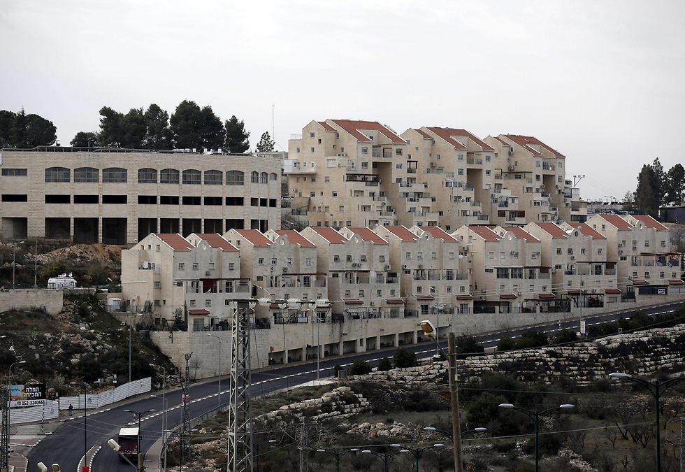 Photo: Jewish settlements in West Bank   (Photo: EPA)