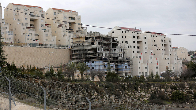 Settlers' houses in Kiryat Arba (Photo: EPA)