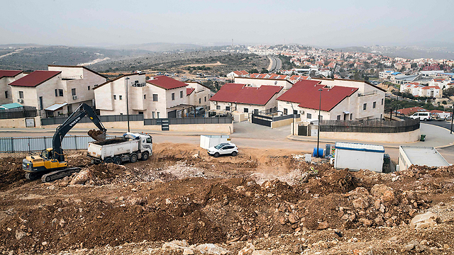 New building in Ariel (Photo: AFP) (Photo: AFP)