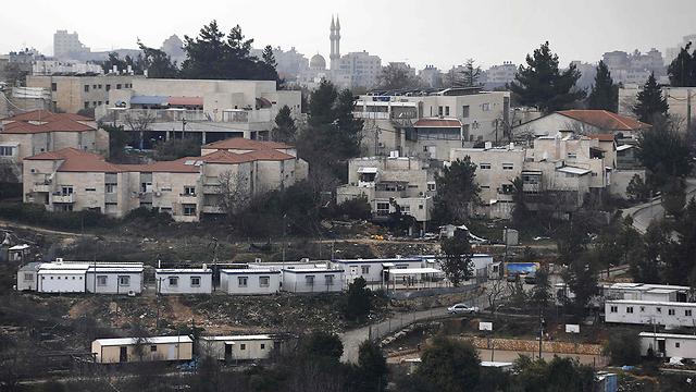 """בית אל. 300 יחידות דיור חדשות במסגרת """"מחיר למשתכן"""" (צילום: AFP) (צילום: AFP)"""