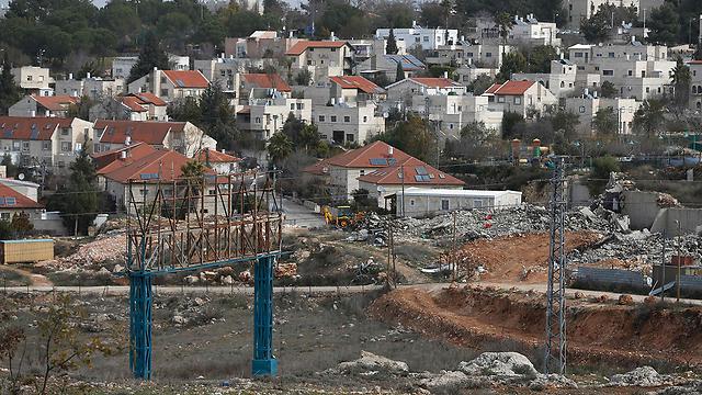 The settlement of Beit El (Photo: AFP)
