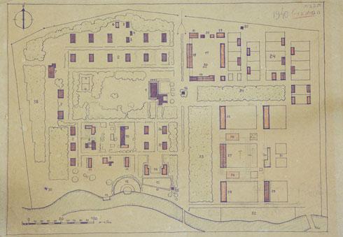 ריכרד קאופמן, מי שתכנן את המעגל המושלם של נהלל, תכנן בניר דוד שדרה שחוצה את המשק עם גשר על האסי (צילום: עמרי טלמור)