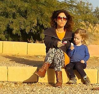 """מאיה גרון: """"ככל שההריון התקדם כך החשש התחזק"""" (צילום: אלבום משפחתי)"""