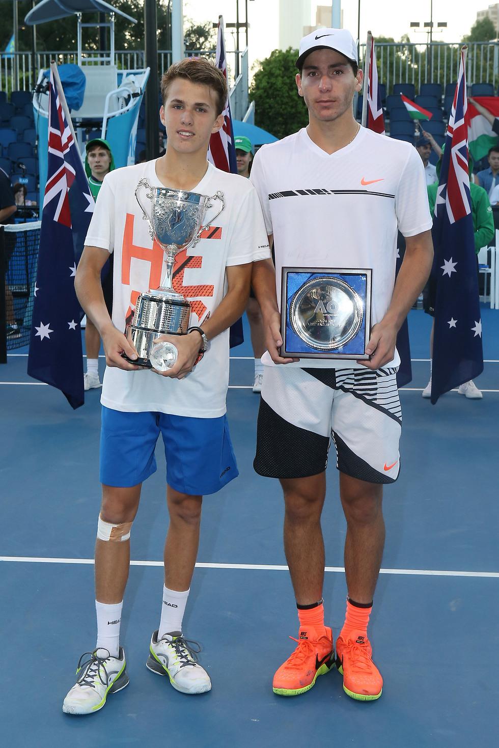 עוליאל בגמר אליפות אוסטרליה (צילום: Getty Images) (צילום: Getty Images)