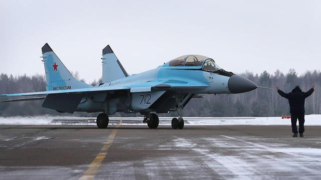 Russian warplane (Photo: AFP)