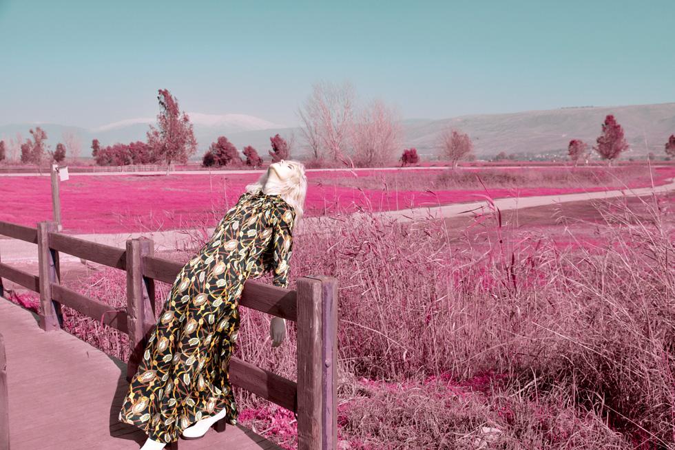 שמלה, סטלה ולורי (צילום: אביב אברמוב)