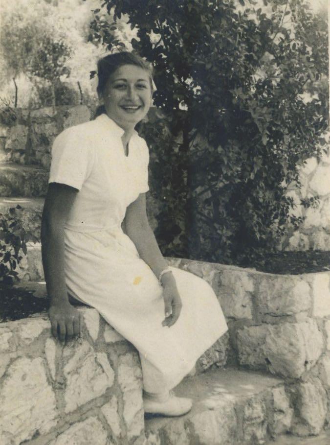 Пнина Арази в молодости. Фото предоставлено семьей