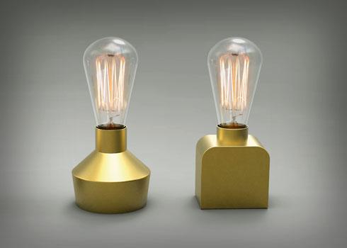 מנורות שהציגה כעצמאית ב-2013 (צילום: ענבל כהנר)