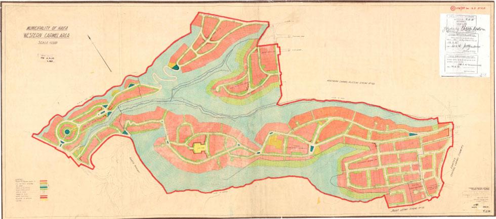 הכרמל הוותיק, או ''הכרמל הטמפלרי'', הוא מלאכתם של הטמפלרים שרכשו את הקרקעות - ושל הבריטים ששמרו על אופי השכונה בהמשך (מתוך haifa.muni.il)