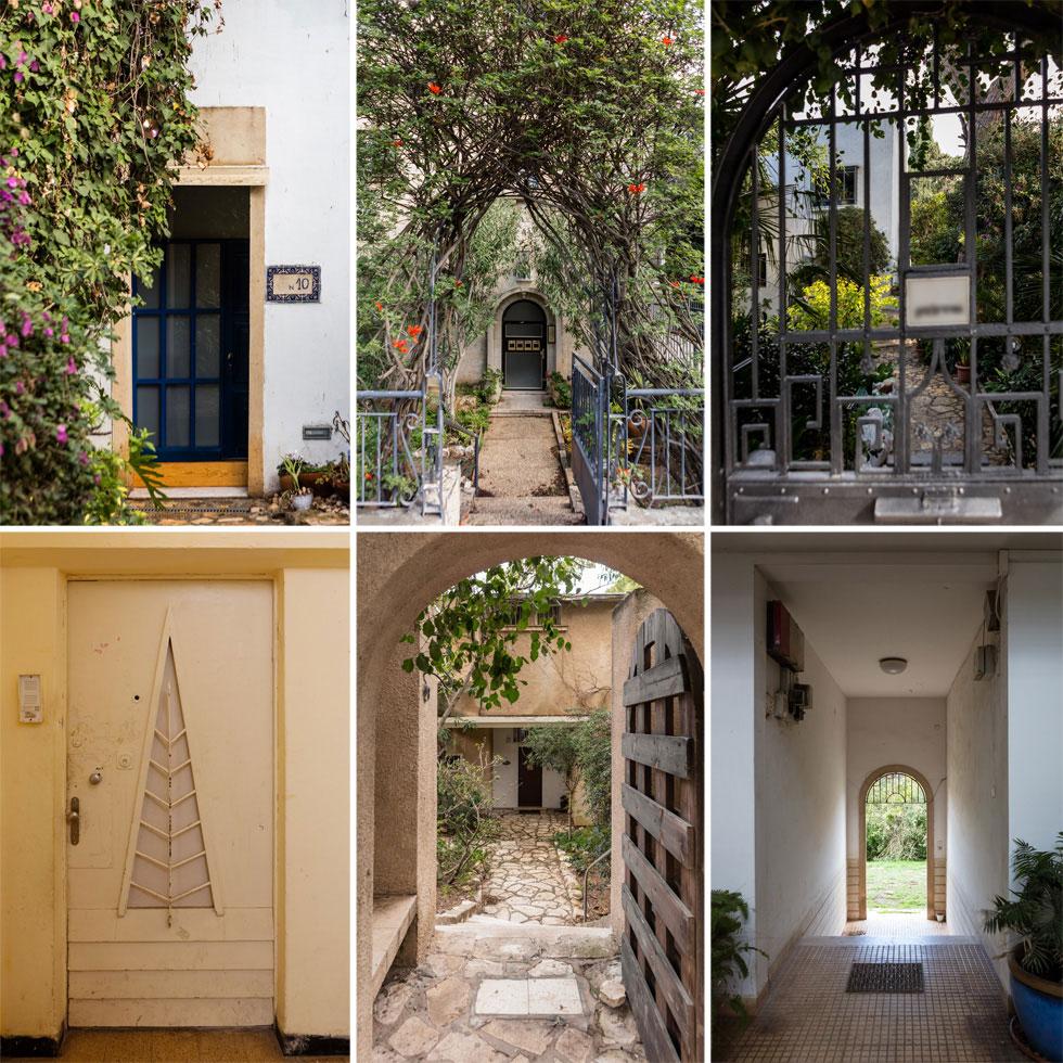 סיור בשכונה מגלה פנינים אדריכליות ועיצוביות בין ברושים גבוהים. הנה כמה דוגמאות  (צילום: אינסה ביננבאום)