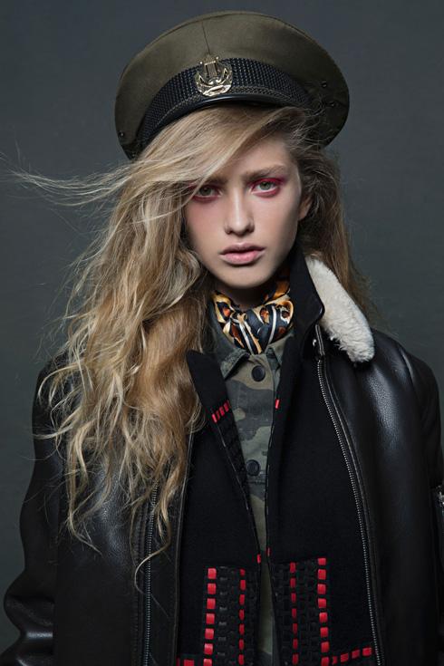 חתמה חוזה עם סוכנות הדוגמנות היוקרתית Viva Model Management בפריז. רבליס (צילום: שי יחזקאל )