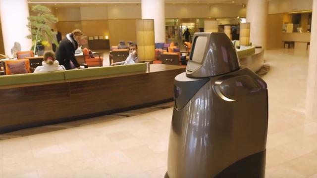 במקום פקידי קבלה: הרובוט הוספי במלון ביפן (Panasonic Newsroom) (Panasonic Newsroom)