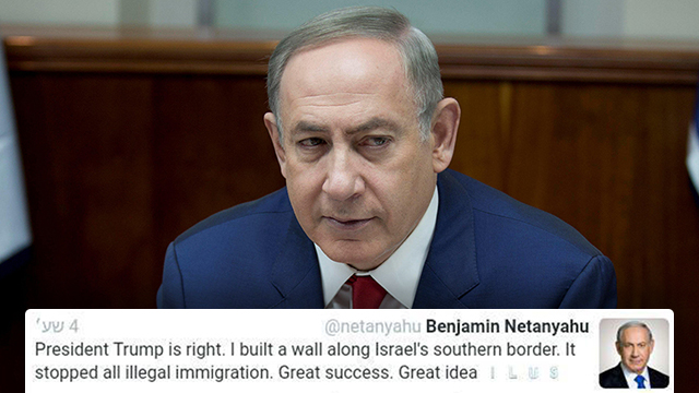 Instead of apologizing to Mexico and ending the affair as soon as possible, Netanyahu is dragging Israel into a first-class diplomatic crisis, while smacking the Left and the press (Photo: Reuters)
