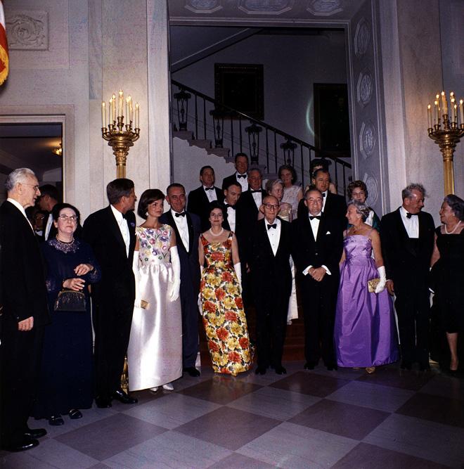 בגדיה המהודרים של קנדי לא נרכשו מכספי הציבור. 1962 (צילום: Gettyimages)