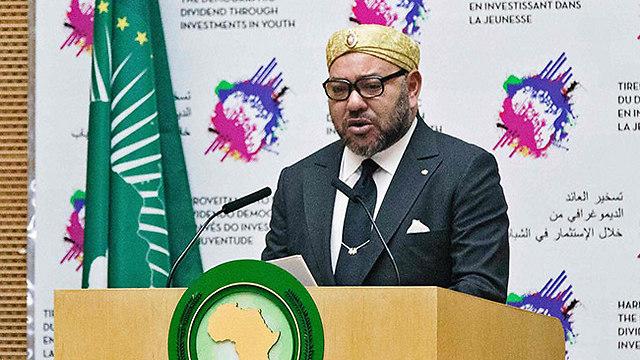 מלך מרוקו מוחמד השישי. היעד: עוד מקומות עבודה (צילום: AFP) (צילום: AFP)