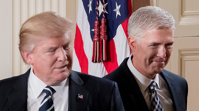 President Trump and Judge Neil Gorsuch (Photo: EPA)