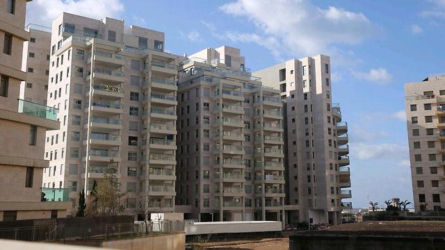 הפרויקט בשכונת הגוש הגדול בתל אביב (צילום: מוטי קמחי)
