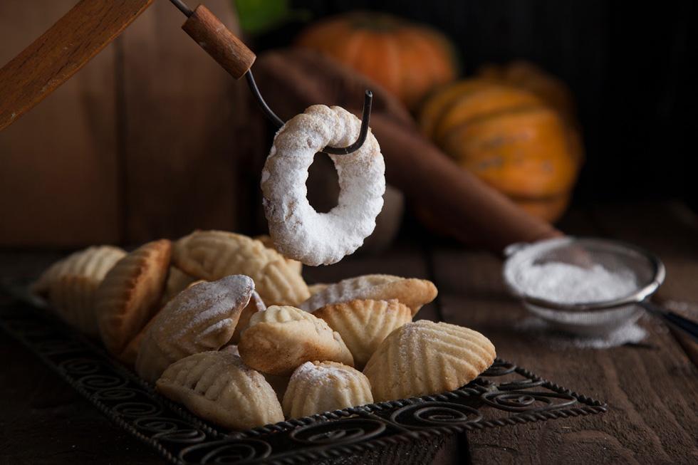 עוגיות מעמול במילוי בוטנים, קינמון וסילאן (צילום: אפיק גבאי)