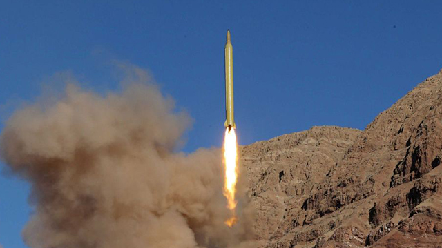 An Iranian ballistic missile test (Photo: Mahmood Hosseini, Reuters